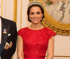 Kate Middleton Recycles Princess Diana's Tiara & Gorgeous Red Dress