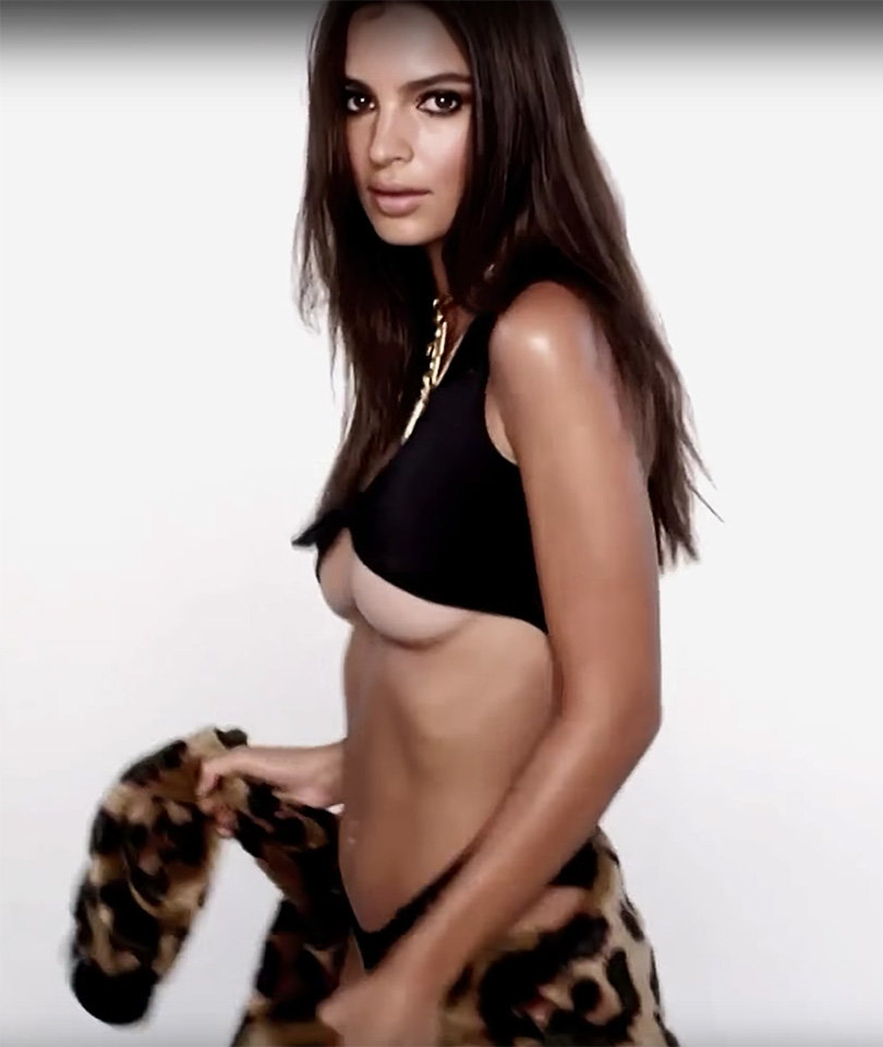 Emily Ratajkowski Stars In Scorching Hot Love Magazine Advent Calendar (Video)