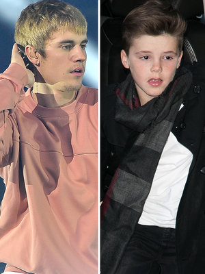 Here's What Justin Bieber Thinks of Cruz Beckham's New Xmas Single (Video)
