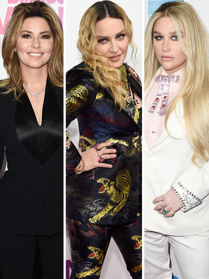 Shania, Madonna & Kesha Among Honorees at Billboard Women In Music 2016
