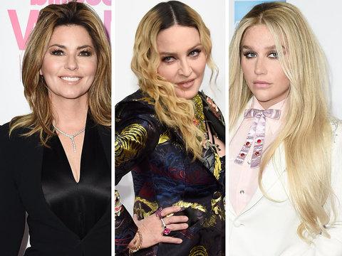Shania, Madonna & Kesha Among Honorees at Billboard Women In Music 2016