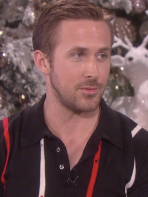 Ryan Gosling Gets Advice on What to Buy Eva Mendes for Xmas (Video)