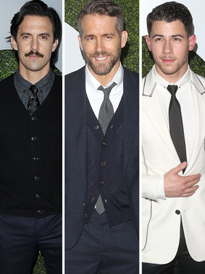 Ventimiglia, Reynolds, & Jonas Among Attendees at GQ Men of the Year Party