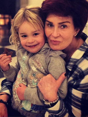 Sharon Osbourne Shares Touching Moment with Granddaughter Pearl