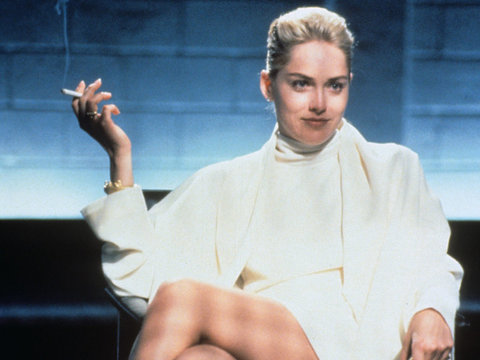 "See Which Model Recreates Sharon Stone's Infamous ""Basic Instinct"" Moment (NSFW Video)"