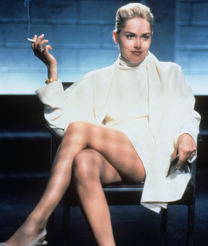 "See Which Model Recreates Sharon Stone's Infamous ""Basic Instinct"" Moment (NSFW…"