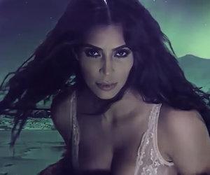 Kim Kardashian Makes Steamy Return in Lingerie Love Advent Calendar (Video)