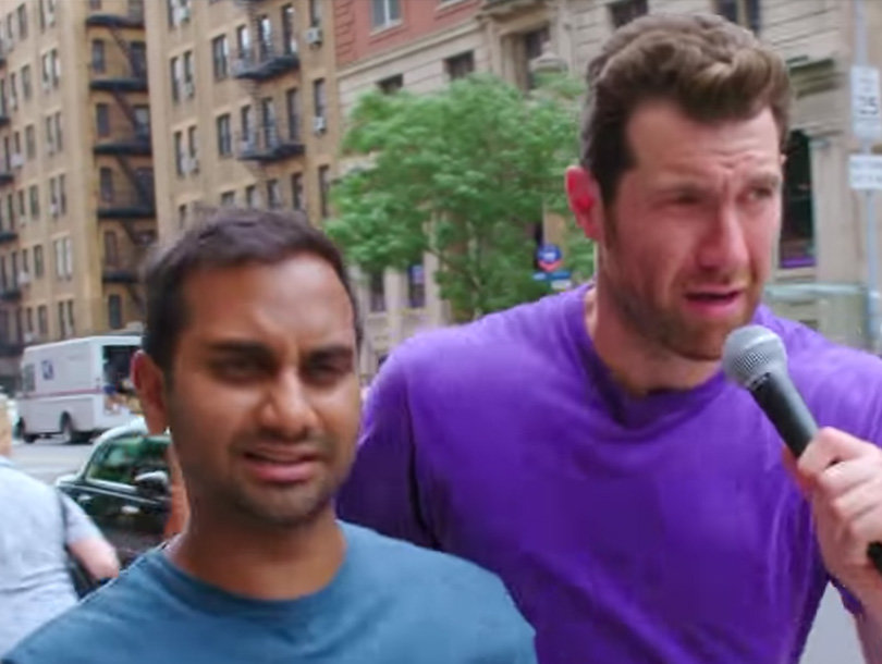 Billy on the Street and Aziz Ansari: 'F--k Lucille Ball; We Have Constance…