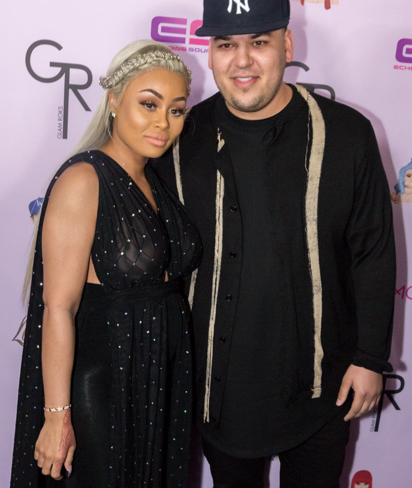 Rob & Chyna Celebrate Baby Dream's 1-Month Birthday with Cute New Snap