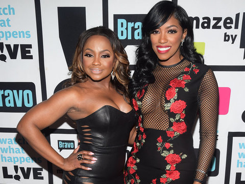 Porsha Williams Says Phaedra Parks Is Moving On And Here's the Makeout Session to Prove…
