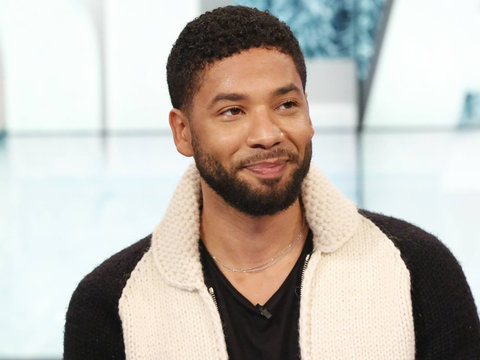 'Empire' Star Jussie Smollett on What It's Really Like Working With Mariah Carey (Video)