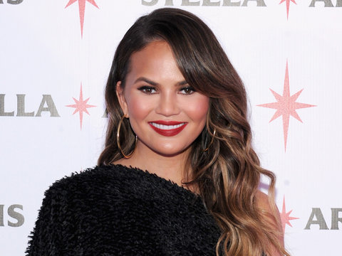 Chrissy Teigen and John Legend's First Santa Photo with Luna Has an Unexpected Twist