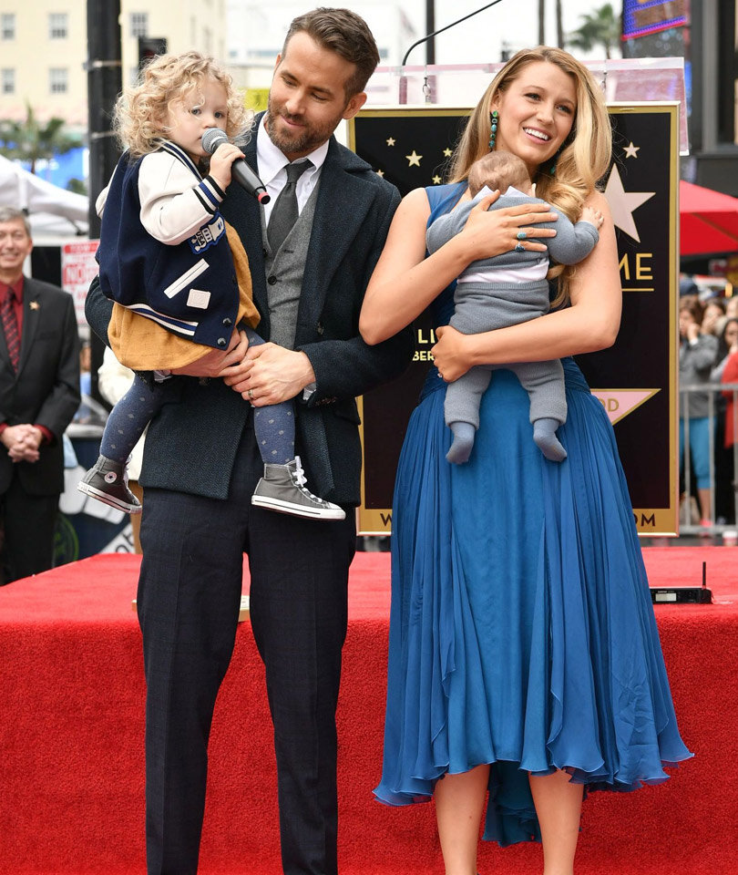 Ryan Reynolds and Blake Lively's Two Daughters Make Public Debut (Photos)