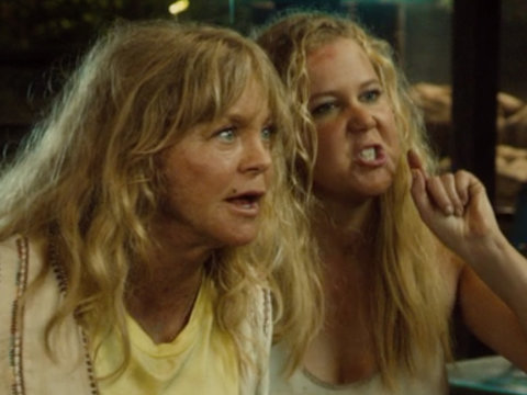 Amy Schumer and Goldie Hawn Get Kidnapped In Raunchy Trailer for 'Snatched' (Video)