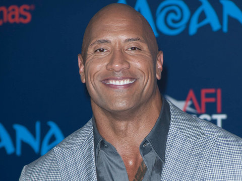 See The Rock's Sweet Song for His Daughter (Video)