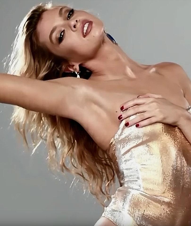 Miley Cyrus' Victoria's Secret Ex-Girlfriend Shows Major Skin in Love Advent Calendar (Video)