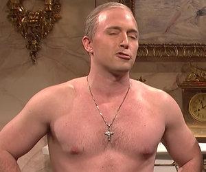 'Saturday Night Live': Shirtless Putin Comes Down Trump's Chimney, 'Hillary…