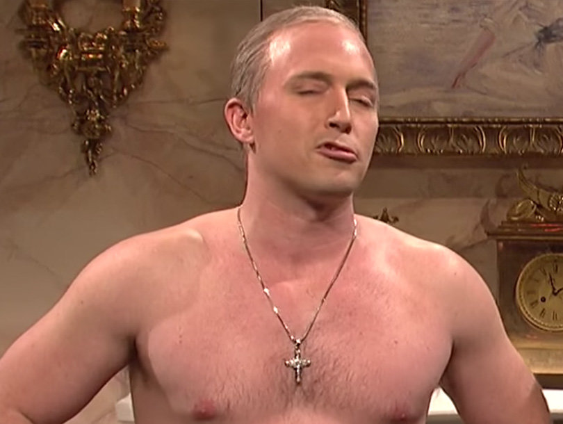 'Saturday Night Live': Shirtless Putin Comes Down Trump's Chimney, 'Hillary…