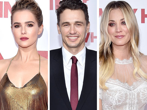 James Franco, Zoey Deutch, Kaley Cuoco & Cast Step Out at 'Why Him?' Premiere