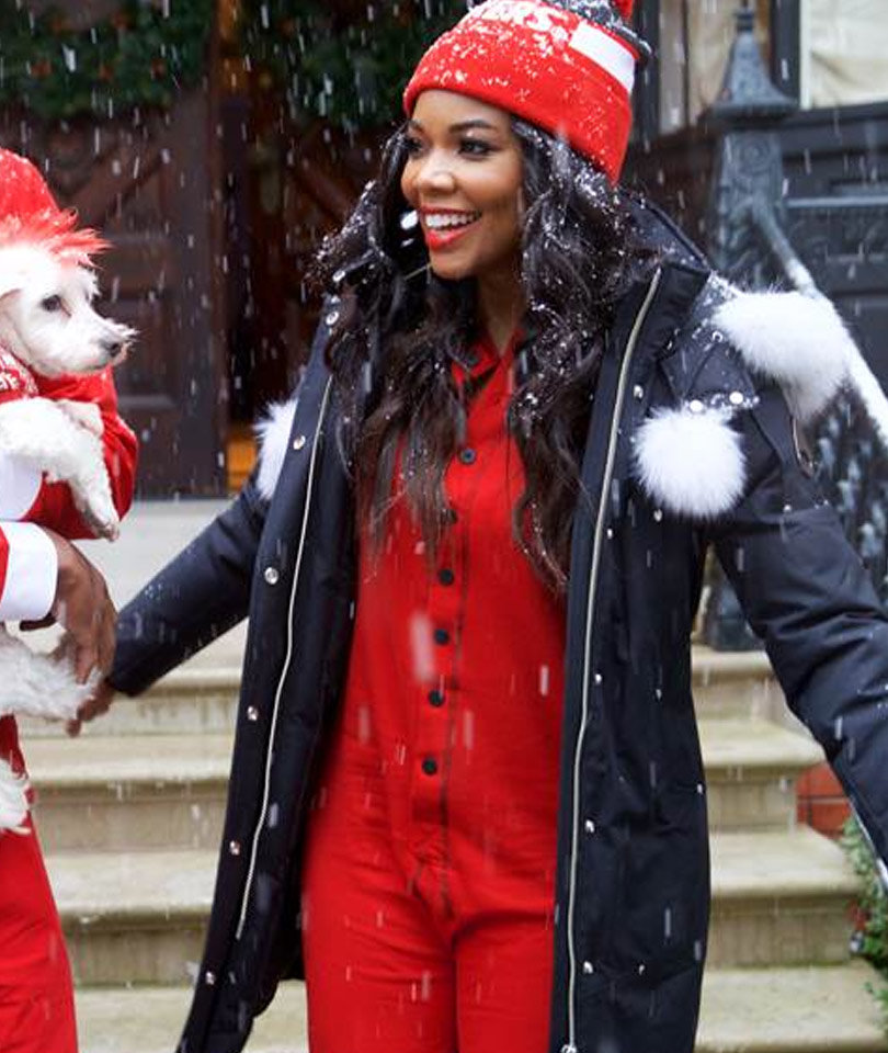 See Gabrielle Union and Family in a Special Holiday Shoot (Photos & Video)