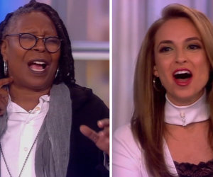 Whoopi Goldberg and Jedediah Bila Debate Donald Trump's Presidency