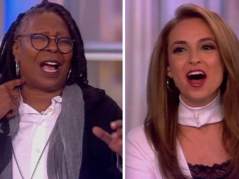 Whoopi Goldberg and Jedediah Bila Debate Donald Trump's Presidency