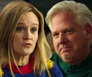 'Full Frontal' Hosts Glenn Beck: 'Sam Bee's Having a Christmas Crisis' (Video)