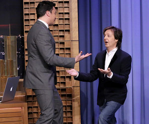 Jimmy Fallon, Paul McCartney and Star-Studded Cast Sing 'Wonderful Christmastime' (Video)