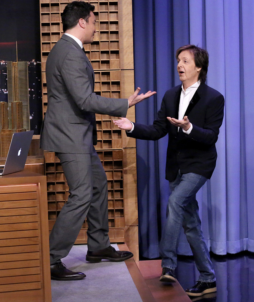 Jimmy Fallon, Paul McCartney and Star-Studded Cast Sing 'Wonderful…