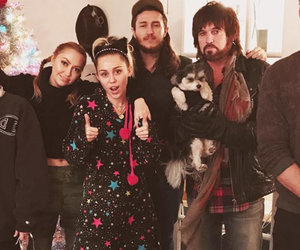Miley Cyrus Spends the Holiday with Entire Cyrus Family and Fiancee Liam…