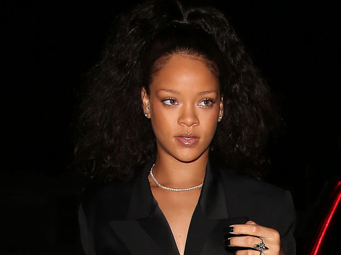 Rihanna Just Rocked One Of The Largest Belts We've Ever Seen