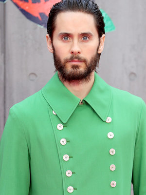Jared Leto Channels Santa Claus In Sexy Shirtless Snap