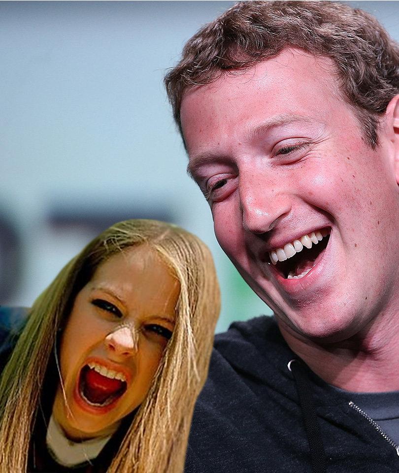 Avril Lavigne Blasts Facebook's Mark Zuckerberg Over Nickelback Diss (Video)