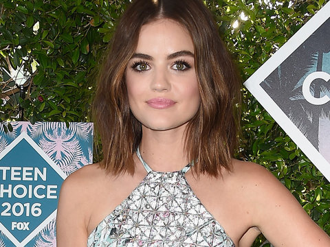 'Pretty Little Liars' Star Lucy Hale on Leaked Nude Photos: 'Whoever Did This... Kiss My…
