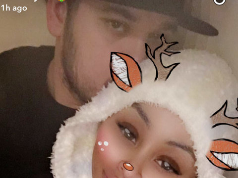 Rob Kardashian and Blac Chyna Reunite to Celebrate Holidays After Split