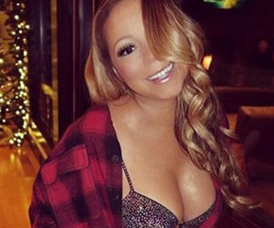 See How Mariah Carey Is 'Festivating' In Her Lingerie for the Holidays