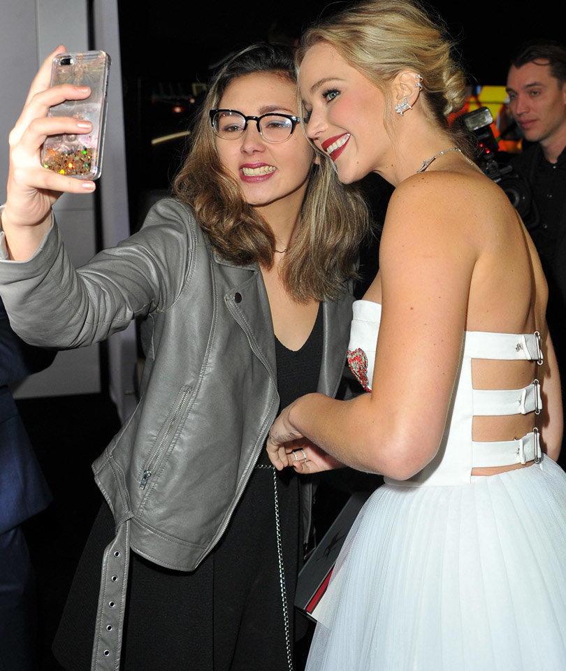 Why Jennifer Lawrence Won't Take Photos With Fans: I'm Famous and Rude Now