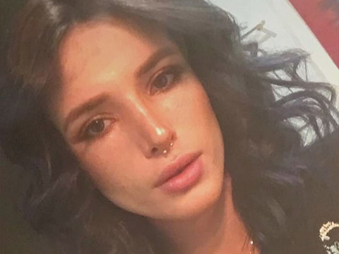 See Bella Thorne's Dramatic New Hair