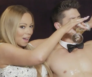 Bryan Tanaka Goes 'Magic Mike' on Mariah Carey - Watch Now