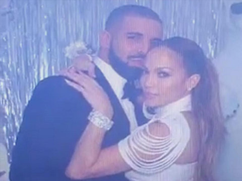 Just One Dance: Drake and Jennifer Lopez Are King and Queen of Vegas Prom (Video)