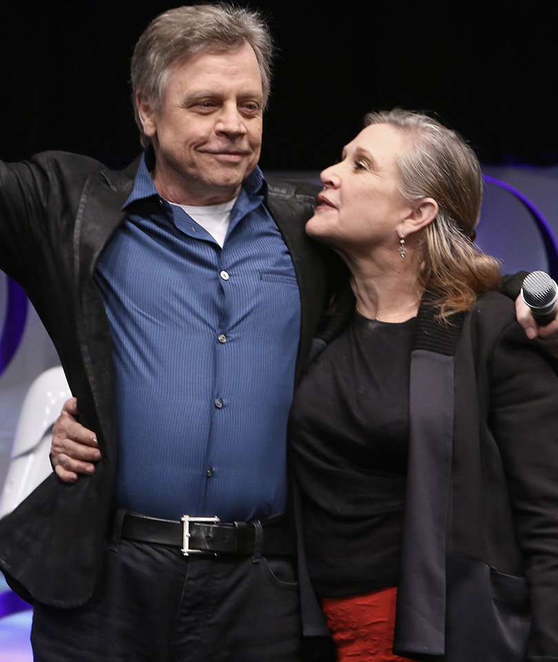 'Star Wars' Star Mark Hamill on Carrie Fisher, Debbie Reynolds Deaths: 'I'm Angry and So Sad""