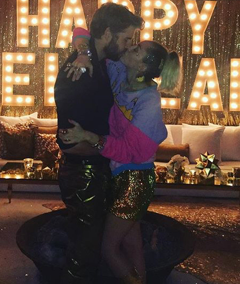 Stars Celebrate New Year's Eve -- See Who Kissed at Midnight! (Photos)