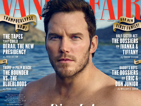 5 Takeaways From Chris Pratt's Shirtless VF Cover: Coupons, Teenage Ass-Kickings and…