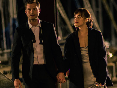 Anastasia at Gunpoint, Zayn, T. Swift! New 'Fifty Shades Darker' Is Here