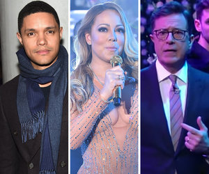 Trevor Noah, Stephen Colbert Mock Mariah's NYE Disaster -- What Really Happened (Video)