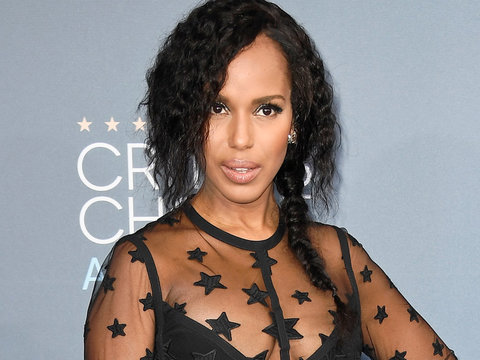Kerry Washington Teases Olivia Pope's TGIT 'Scandal' Return (Photos)