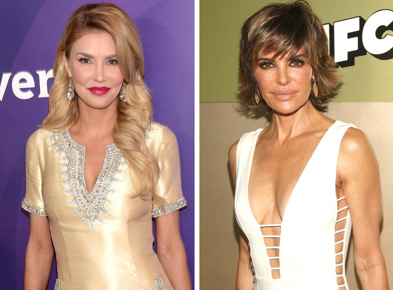 Brandi Glanville Blasts Lisa Rinna for 'Bad Wig,' 'Eating Disorder' --RHOBH Season 5 Called, It Wants Its Feud Back