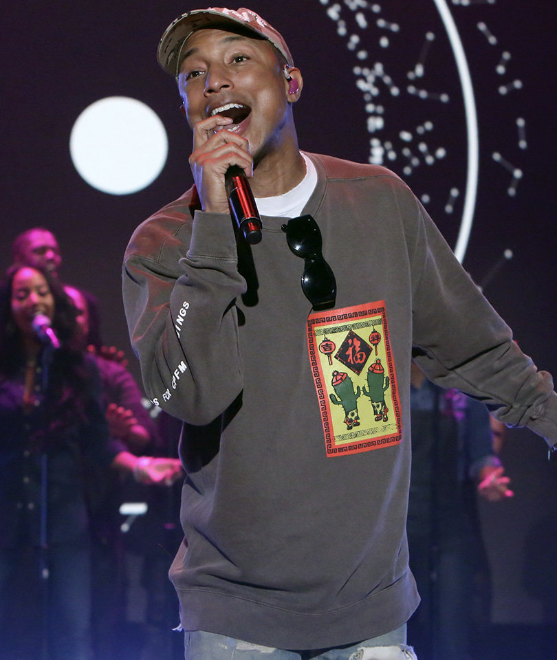 Pharrell Williams Condemns Kim Burrell's Homophobic Rant During 'Ellen Show'…