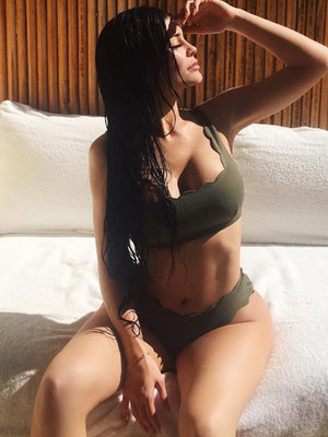Kylie Jenner Continues Bikini Photo Spree in Mexico