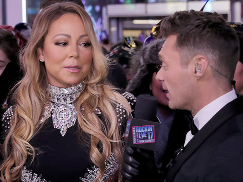 Ryan Seacrest Didn't Actually See Mariah Carey's Live New Year's Eve Disaster